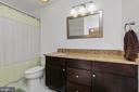 Suite Bathroom (3rd Bath on Upper Level) - 1515 JUDD CT, HERNDON