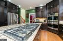 Deluxe Appliances including 6 Burner Cooktop - 1515 JUDD CT, HERNDON