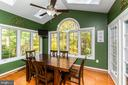 Breakfast Room w/Cathedral Ceiling & 4 Skylights - 1515 JUDD CT, HERNDON