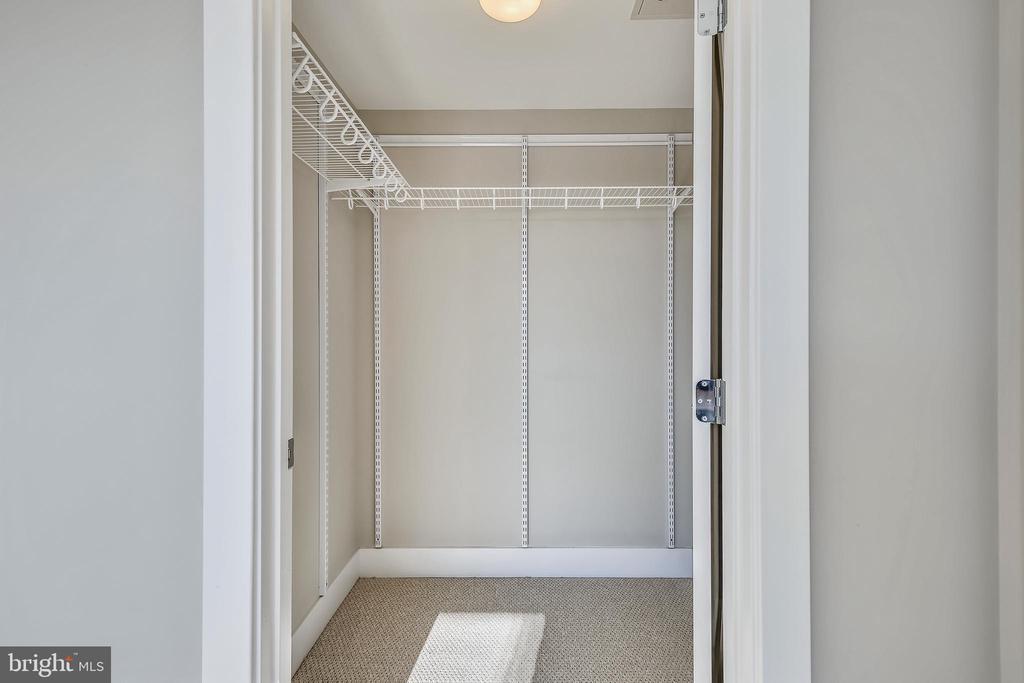 Huge walk-in closet - 1111 ORREN ST NE #501, WASHINGTON