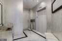 Private Elevator Foyer w/ Italian marble flooring - 1881 N NASH ST #2309, ARLINGTON