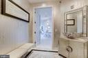 Elegant etched glass entry door - 1881 N NASH ST #2309, ARLINGTON