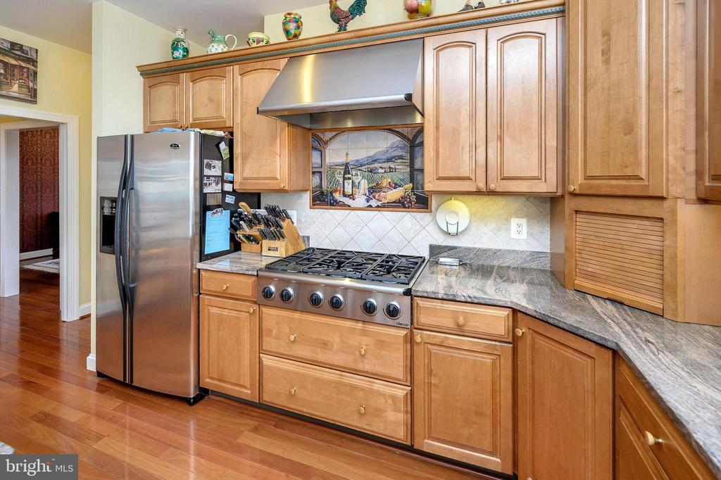 Dacor 6-burner Cooktop & Granite Counters... - 6142 WALKER'S HOLLOW WAY, LOCUST GROVE