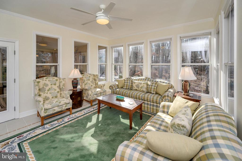 Cozy up in the Four-Season Sunroom - 6142 WALKER'S HOLLOW WAY, LOCUST GROVE