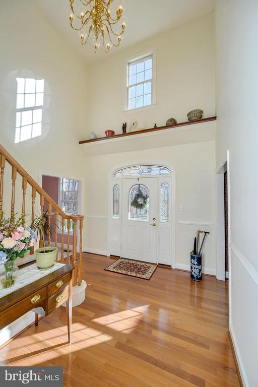 With  Walnut Display Ledge above Entry - 6142 WALKER'S HOLLOW WAY, LOCUST GROVE