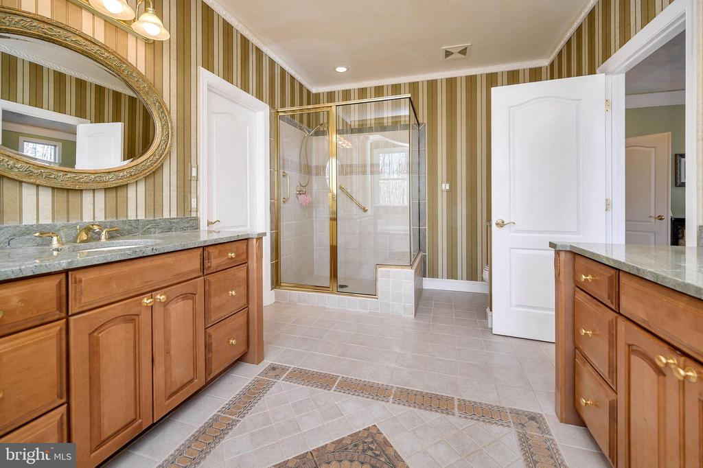 Separate Shower with Seat... - 6142 WALKER'S HOLLOW WAY, LOCUST GROVE