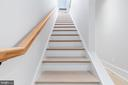 Stairs leading to 500sqft private roof deck! - 1944 CAPITOL AVE NE #4, WASHINGTON
