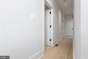 Upstairs hall- leading to in unit W/D - 1944 CAPITOL AVE NE #4, WASHINGTON