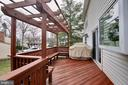 Spacious Multilevel Deck - 123 APPLEGATE DR, STERLING