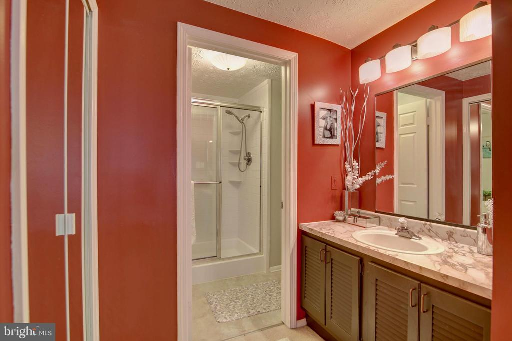Master Bath - 123 APPLEGATE DR, STERLING