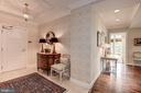 Foyer - 7405 ARLINGTON RD #402, BETHESDA