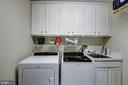 Laundry Room - 7405 ARLINGTON RD #402, BETHESDA
