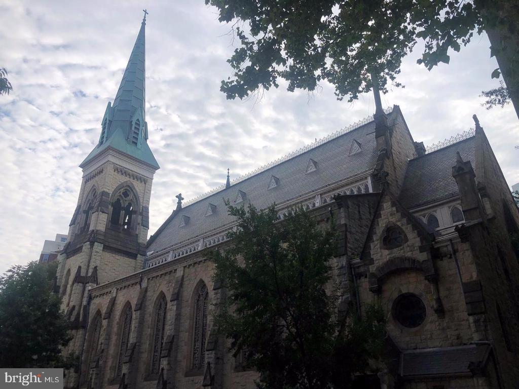 Historical Church cross the street - 1125 12TH ST NW #2, WASHINGTON