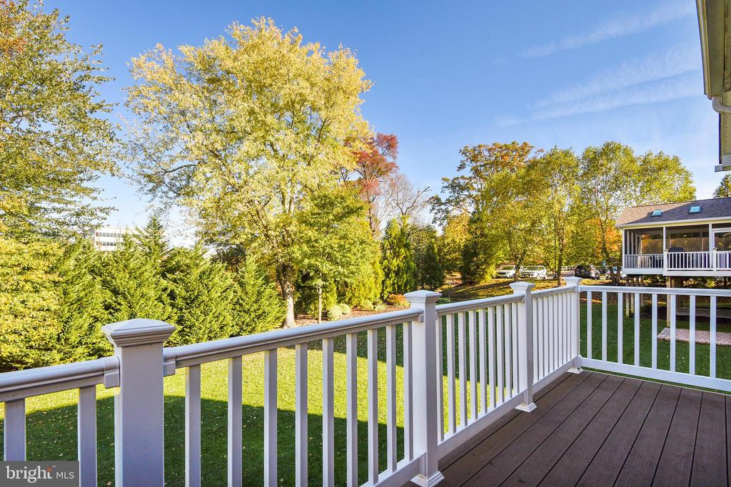 View from Trex Deck - 1903 EAMONS WAY, ANNAPOLIS