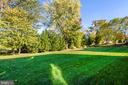 Level back yard and open space with wooded buffer - 1903 EAMONS WAY, ANNAPOLIS