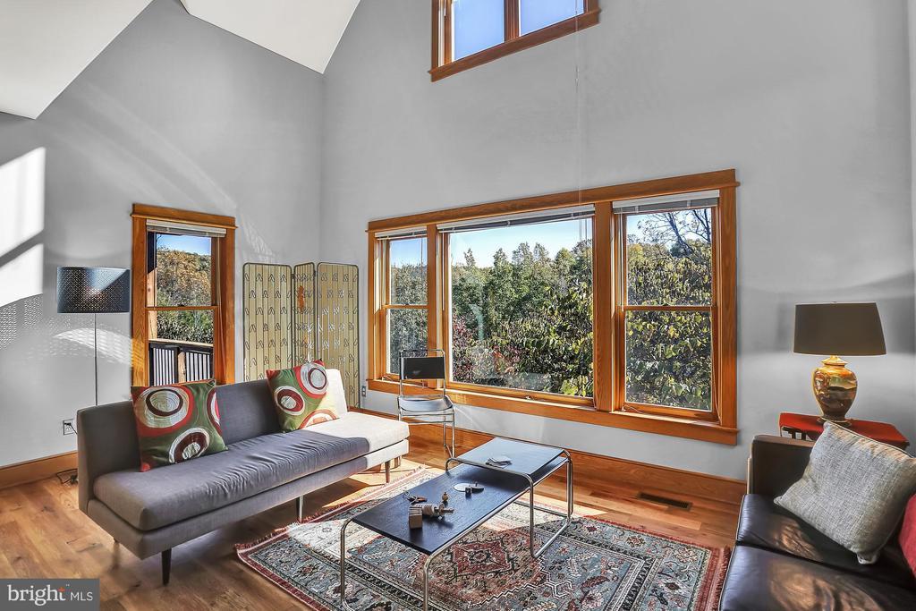 Great Room - Passive solar design - 12606 TRILLIUM GLEN LN, LOVETTSVILLE