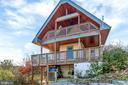 Side View of Home - Deck and Sleeping Porch - 12606 TRILLIUM GLEN LN, LOVETTSVILLE