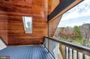 View from Open Air Sleeping Porch - 12606 TRILLIUM GLEN LN, LOVETTSVILLE