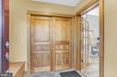 Front Entrance Air Lock Foyer - 12606 TRILLIUM GLEN LN, LOVETTSVILLE