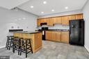 Basement Kitchen - 12606 TRILLIUM GLEN LN, LOVETTSVILLE