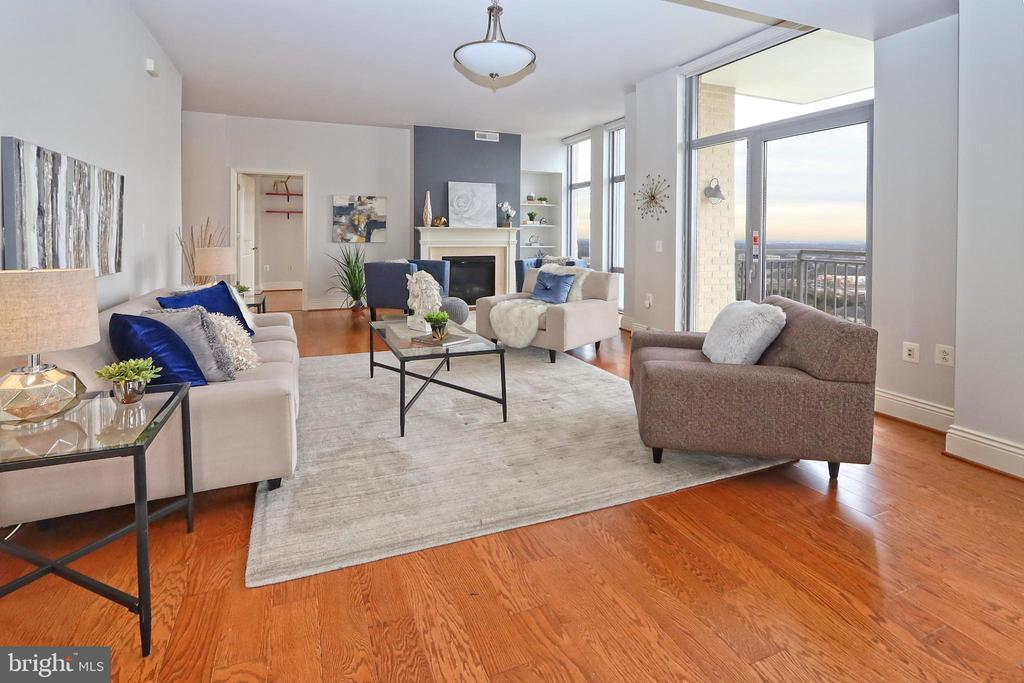 Many options for use of space - see the floorplan - 11990 MARKET ST #1914, RESTON