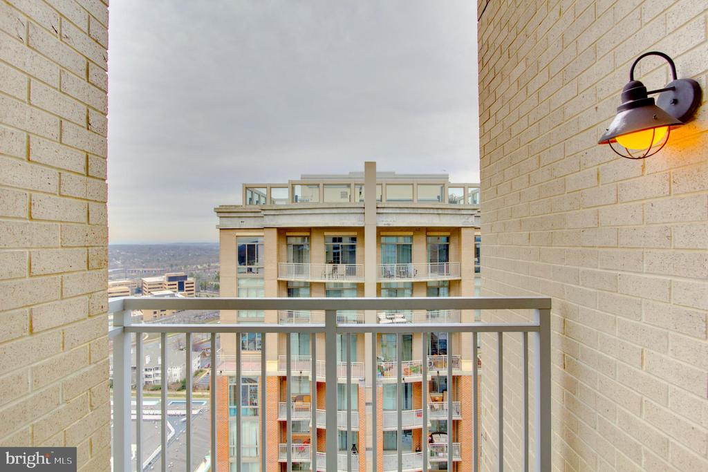 Balcony - 11990 MARKET ST #2114, RESTON