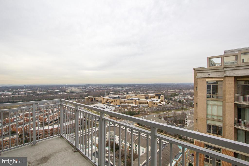 Balcony View - 11990 MARKET ST #2114, RESTON