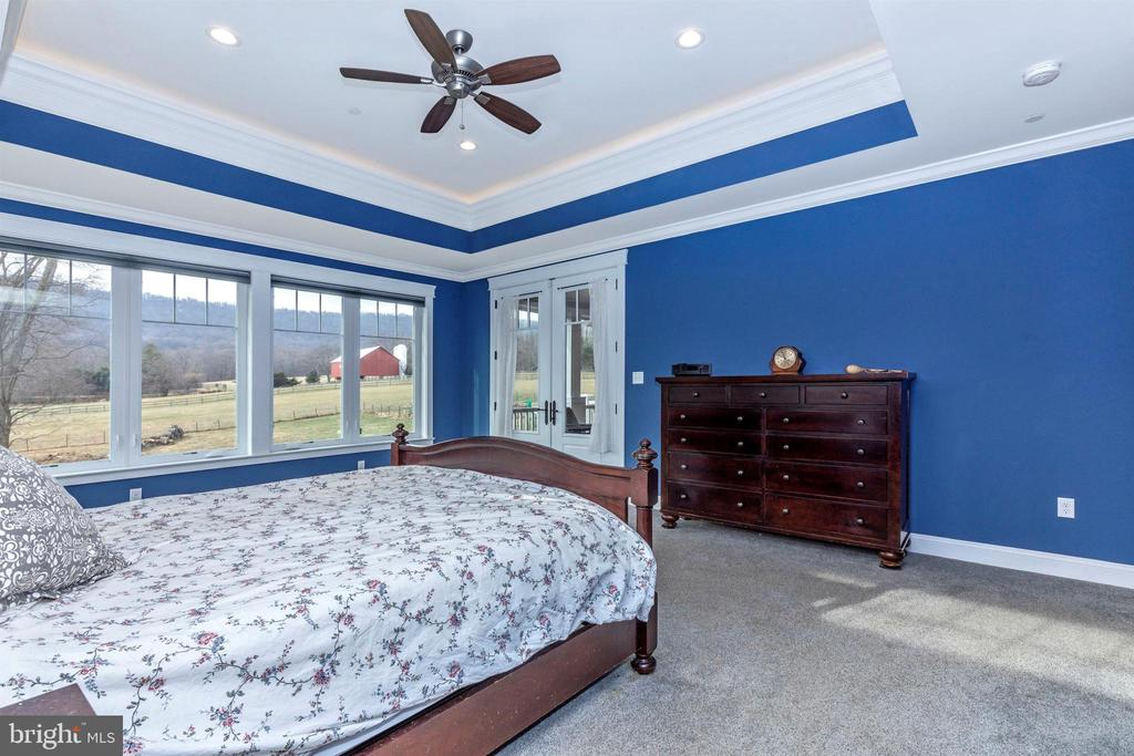 Master bedroom has access to screened porch. - 1504 MARKER RD, MIDDLETOWN