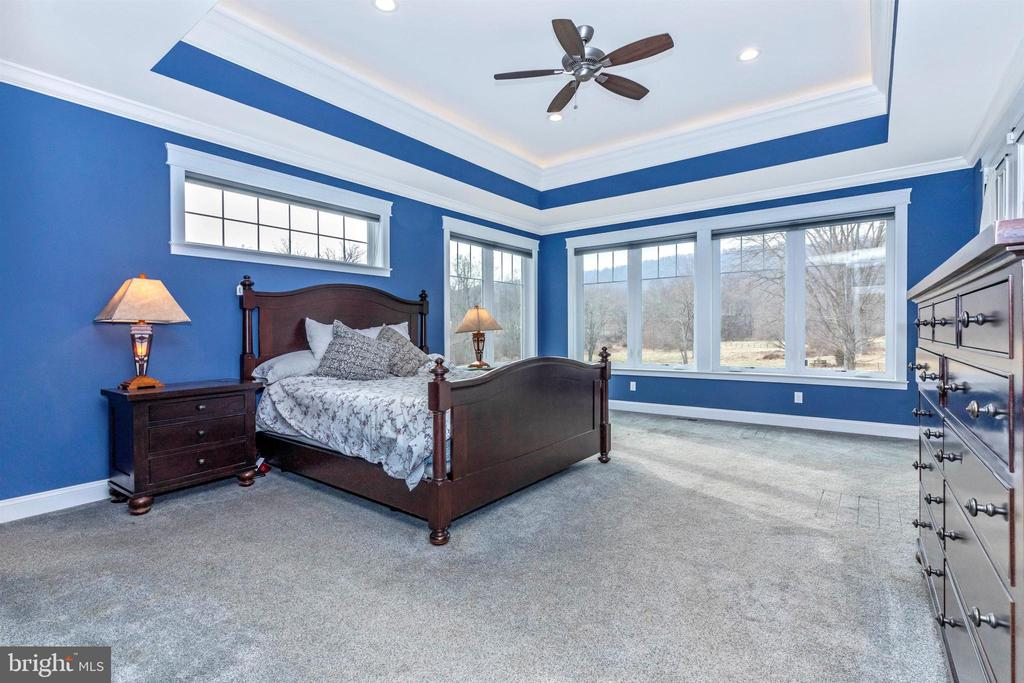Plenty of windows and privacy in the Master - 1504 MARKER RD, MIDDLETOWN