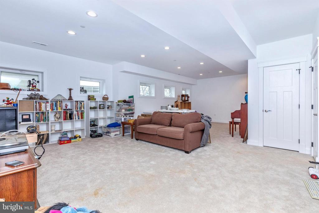 Basement has finished family room. - 1504 MARKER RD, MIDDLETOWN