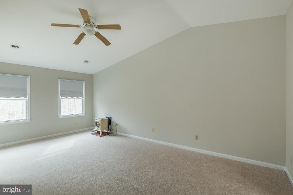 Master Bedroom With Gas Stove - 135 LADY JANE LN, FREDERICKSBURG