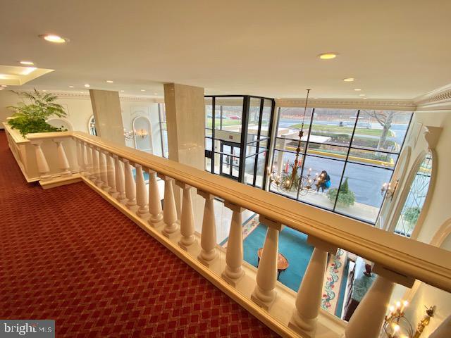 First Floor Balcony over looking lobby - 1300 ARMY NAVY DR #105, ARLINGTON