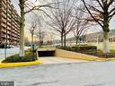 Entry to Covered Underground Parking - 1300 ARMY NAVY DR #105, ARLINGTON