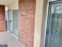 Living & Bedroom sliders to Balcony - 1300 ARMY NAVY DR #105, ARLINGTON