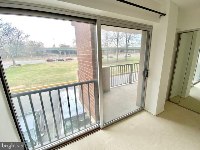 Balcony from Bedroom - 1300 ARMY NAVY DR #105, ARLINGTON