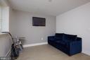 Lower level Den/Bedroom - 419 GUETHLER'S WAY SE, WASHINGTON