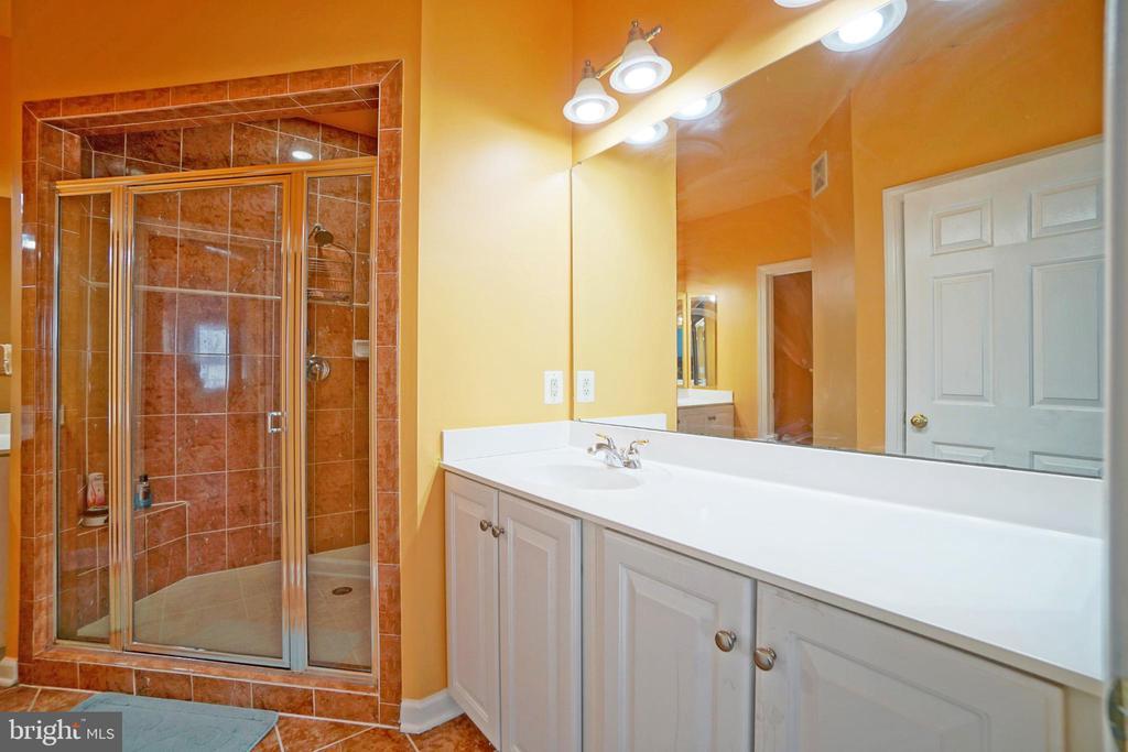 Huge master bath - 647 WHETSTONE GLEN ST, GAITHERSBURG