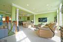 Large, open living/dining space - 647 WHETSTONE GLEN ST, GAITHERSBURG