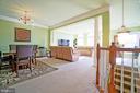 Open floorplan - 647 WHETSTONE GLEN ST, GAITHERSBURG