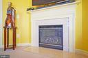 Warm up around the gas fireplace! - 647 WHETSTONE GLEN ST, GAITHERSBURG