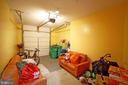 One car garage with room for storage - 647 WHETSTONE GLEN ST, GAITHERSBURG