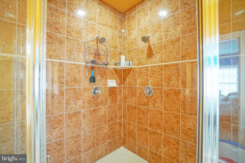 Oversized double shower - 647 WHETSTONE GLEN ST, GAITHERSBURG