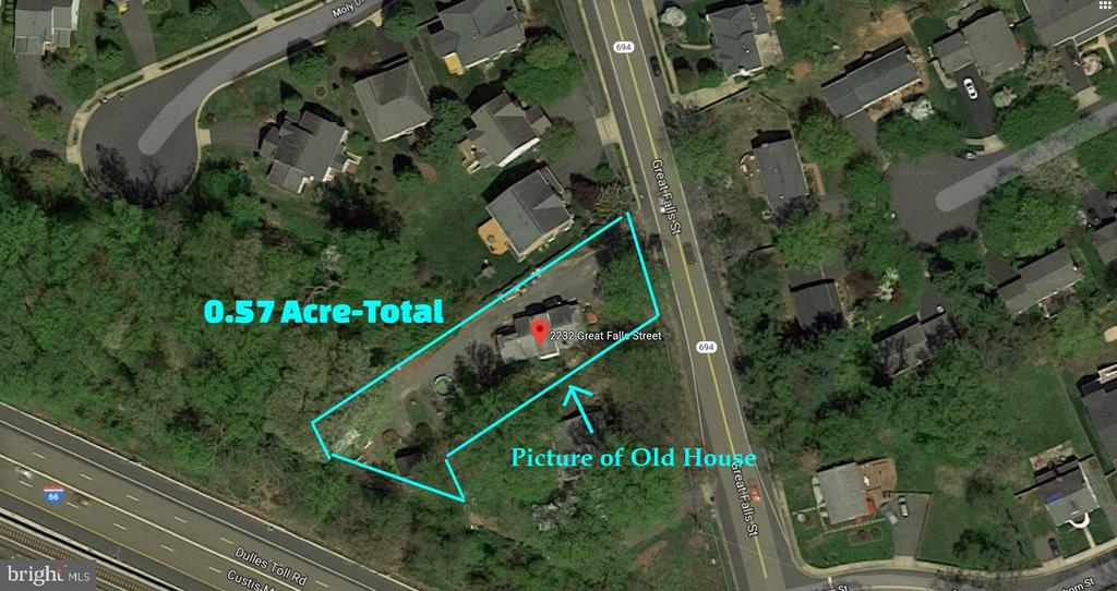 2 Lots together - 0.57 Acre - 2232 GREAT FALLS ST, FALLS CHURCH