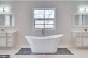 Beautiful Master Bathroom - 2232 GREAT FALLS ST, FALLS CHURCH
