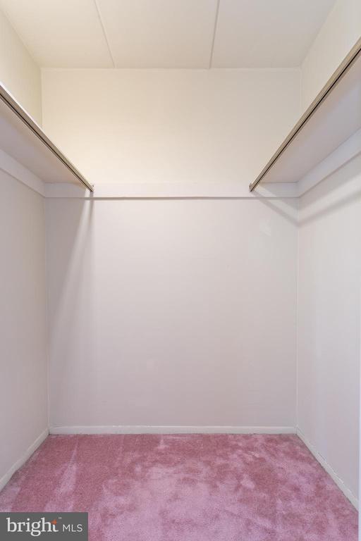 walk-in closet - 5743 N KINGS HWY, ALEXANDRIA