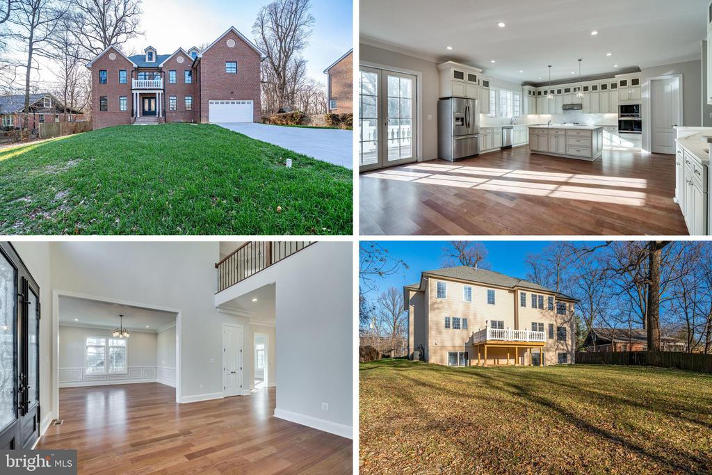 Beautiful New Home -Over 7,000 finished sqft - 2232 GREAT FALLS ST, FALLS CHURCH