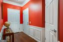 Foyer of Home with Elegant Molding and Hwd Flrs - 20570 HOPE SPRING TER #401, ASHBURN