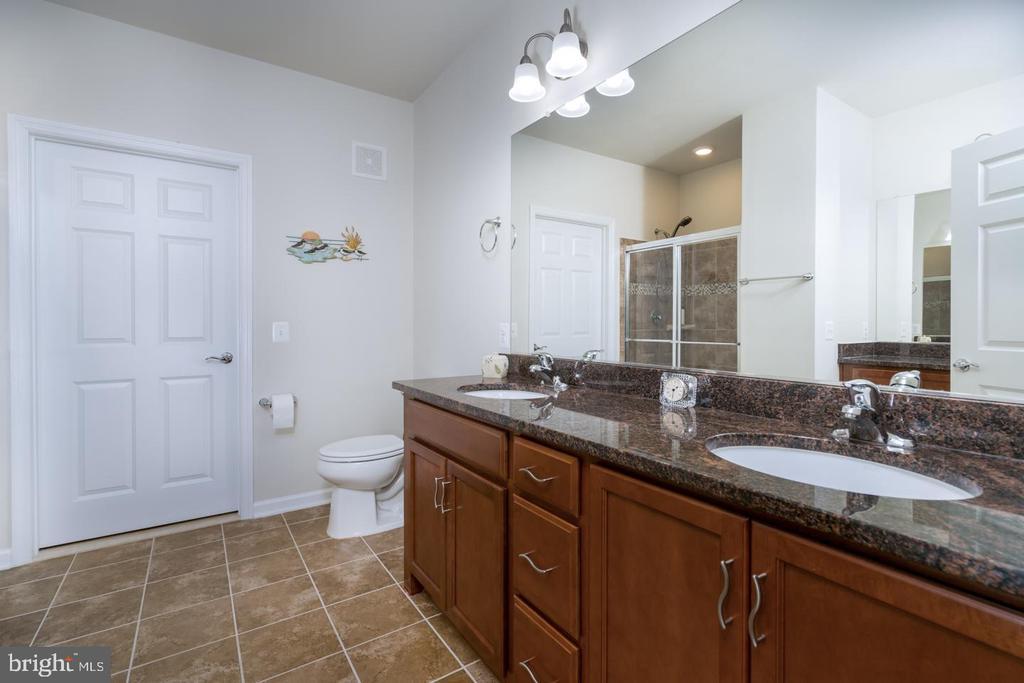 Upgraded Owner's Bath with Raised Dual Vanity - 20570 HOPE SPRING TER #401, ASHBURN