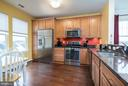 Kitchen with Breakfast Area - 20570 HOPE SPRING TER #401, ASHBURN