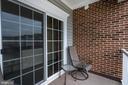 Balcony - 20570 HOPE SPRING TER #401, ASHBURN